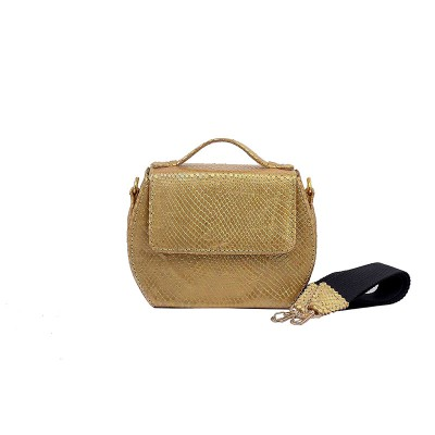AMBER MINI BOX BAG